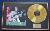 'Elvis Presley' - 24 Carat Gold Disc - To commemorate the 40th anniversary of Elvis' death